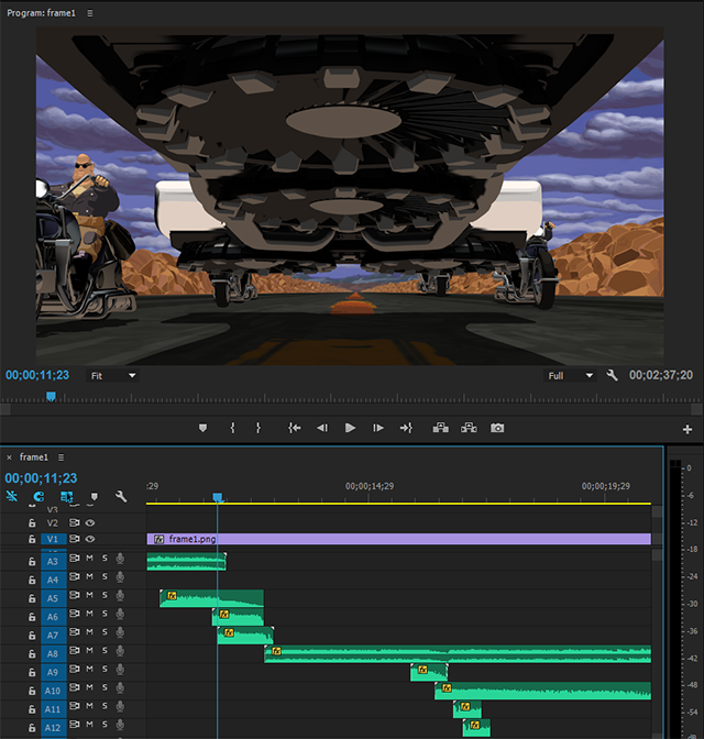 Adobe Premiere Pro Project Example