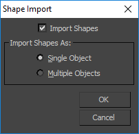 Example of Shape Import Dialog